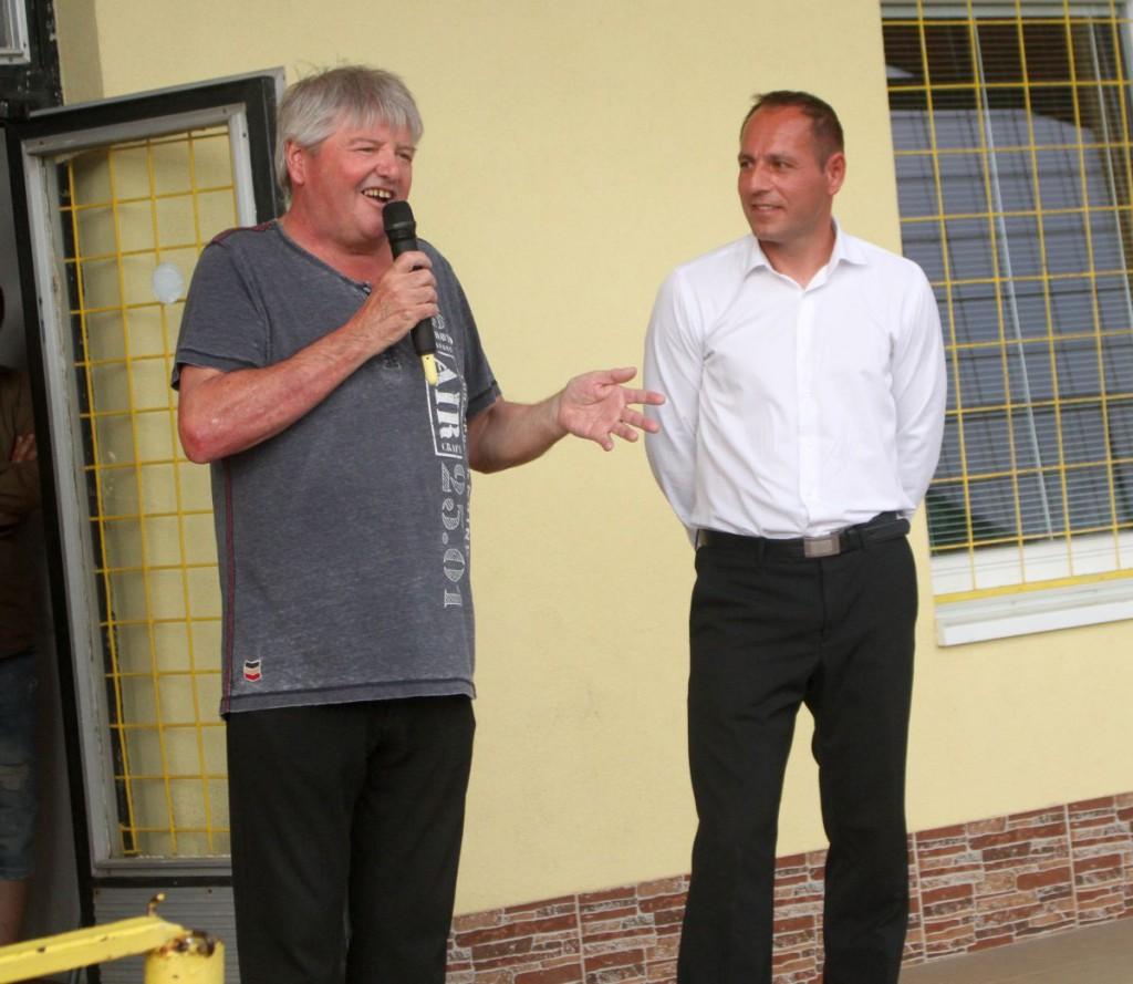 Drahošovi sa verejne poďakoval aj šéf klubu Milan Kramár.