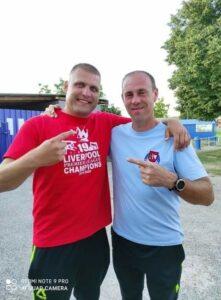 Roman Hromádka a Branislav Matys